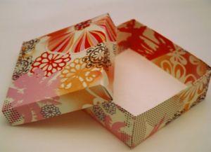 как сделать коробку из бумаги 35