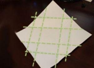 как сделать коробку из бумаги 43