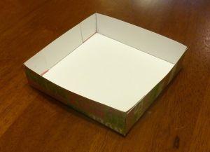как сделать коробку из бумаги 7