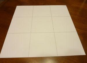 как сделать коробку из бумаги 8