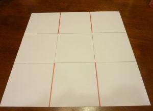 как сделать коробку из бумаги 9