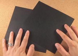 Как сделать кунай из бумаги 1