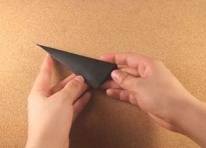 Как сделать кунай из бумаги 7