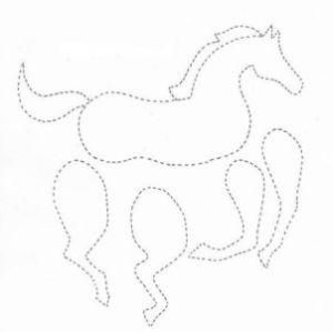 как сделать лошадь из бумаги фото 25