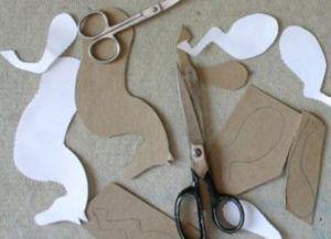 как сделать лошадь из бумаги фото 26