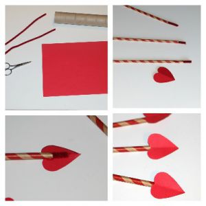 как сделать лук из бумаги фото 14