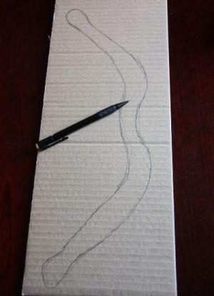 как сделать лук из бумаги фото 6