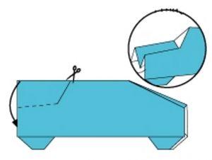 как сделать машинку из бумаги_11