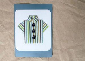 как сделать рубашку из бумаги фото 18