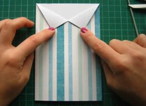 как сделать рубашку из бумаги фото 20
