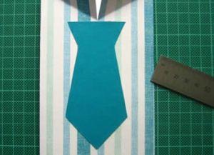 как сделать рубашку из бумаги фото 22