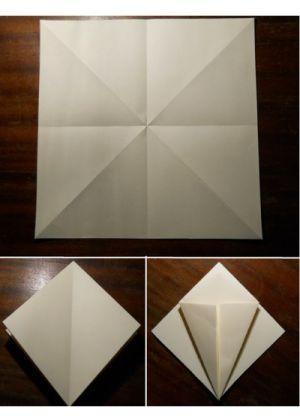 как сделать саи из бумаги_1