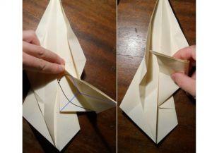 как сделать саи из бумаги_6