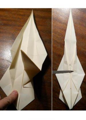 как сделать саи из бумаги_7