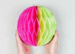 Как сделать шар из бумаги 11