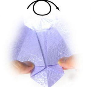 как сделать стакан из бумаги 26