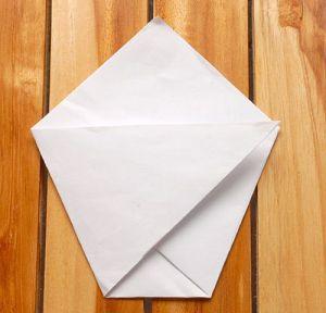 как сделать стакан из бумаги 4
