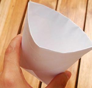 как сделать стакан из бумаги 9