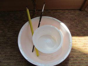 как сделать ствол для дерева из бисера 4