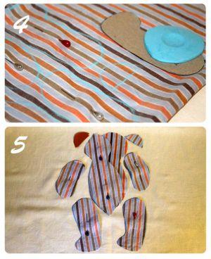 как сшить мишку 4