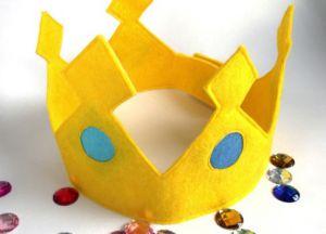 корона из фетра фото 15