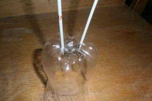 новогодние поделки из пластиковых бутылок (7)