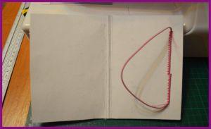 обложка на паспорт скрапбукинг мк 7
