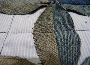 Пэчворк из старых джинсов 12