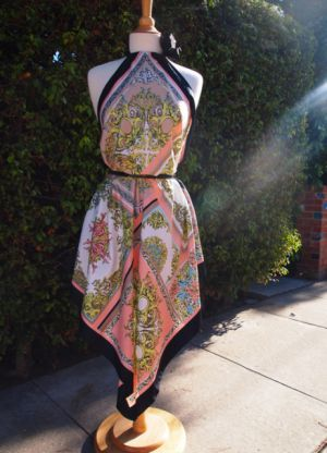 платье из платков своими руками_23