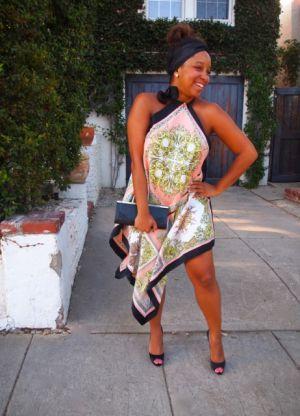 платье из платков своими руками_24
