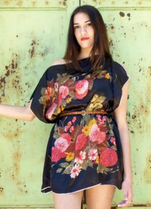 платье из платков своими руками_6