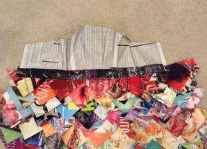 платья из подручных материалов 24