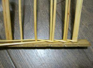 плетение из лозы для начинающих 3