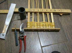 плетение из лозы для начинающих 4