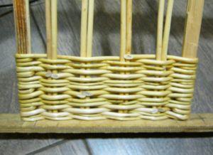 плетение из лозы для начинающих 5
