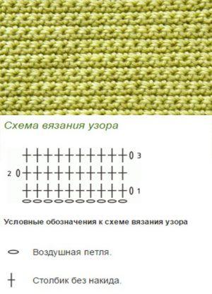 простые узоры крючком 1
