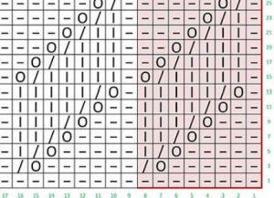 простые узоры спицами для начинающих 19