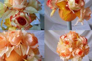 топиарии из искуственных цветов 7