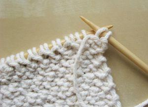 Узор плетенка спицами 12