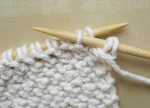 Узор плетенка спицами 13