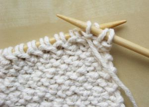 Узор плетенка спицами 14
