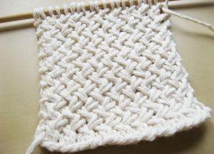 Узор плетенка спицами 19