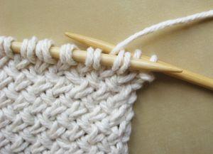Узор плетенка спицами 5