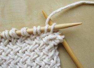 Узор плетенка спицами 8