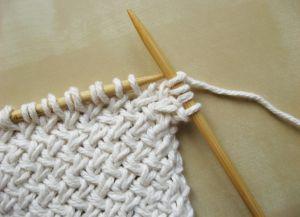 Узор плетенка спицами 9