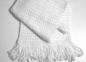 Узоры крючком для шарфа 1