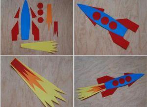 как делать ракету из бумаги 2
