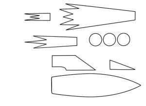 как делать ракету из бумаги