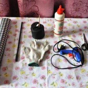 как сделать шкаф для кукол2