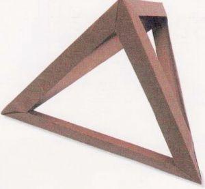 как из бумаги сделать тетраэдр15
